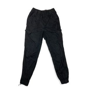 Divided by H&M Black Elastic Waist Joggers Size 2